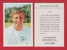 Tottenham Hotspur Cliff Jones Wales 278